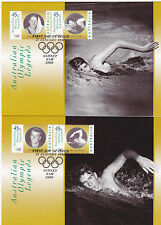 1998 Australian Olympic Legends - Maxi Cards (6)