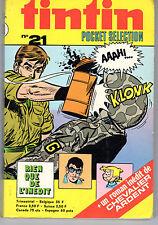 TINTIN SELECTION 21  ANNEE 1973 TBE