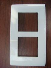 LEGRAND Mosaic,Ancien model 10 Plaques Vertical Blanche,4 Modules 750 22 (75022)