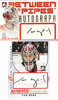 06-07 ITG Cam Ward Auto SP Between The Pipes Autograph