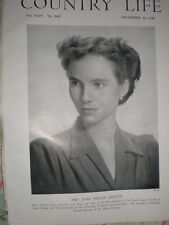 Printed photo Mrs John Miller Martin daughter Sir David Ross Oxford Uni 1943
