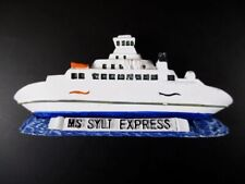 Magnet MS Sylt Express Schiff Boot,Polyresin Fridge,Souvenir Germany