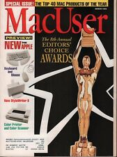 MacUser March 1993 Timbuktu Alias Sketch Cachet w/ML 083018DBE
