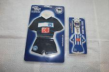 Hertha BSC  Mini-Kit Und Schlüsselanhänger Neu...
