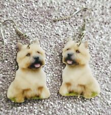 Norwich Terrier Dog lightweight earrings jewelry Free Shipping! Mydogsocks