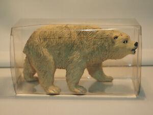 ZZ Tierfigur, Eisbär, 70er Jahre, Made in Germany, Neu mit Verpackung
