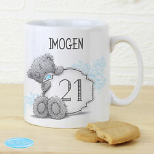 Personalised Me to You Big Age Birthday Mug - Add Name, Age & Message
