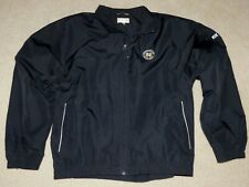 Notre Dame Fighting Irish Mens Navy Monogram Club Jacket Full Zip Cutter/Buck 2X