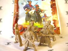 Kuban Cossacks - Bag 5 Figures 54mm Soft plastic Tehnolog Russian Toy Soldiers