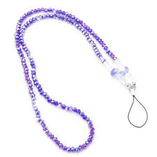 New Pearls Neck Strap Lanyard KeyRing Keychain Necklace Holder For Mobile Phone