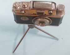 "Early KKW 2.5"" Camera Compass Cigarette Lighter on Tripod  (Sb14)"