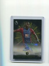 2016 Topps Premier Gold Brilliance of the Pitch Christian Benteke Auto 13/25