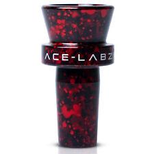 Titan Stem Ace Labz lab 14mm funnel diffused metal scientific bowl glass RED