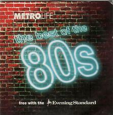 THE BEST OF THE 80s – METRO LIFE PROMO CD (2003) SPANDAU BALLET, CULTURE CLUB ++