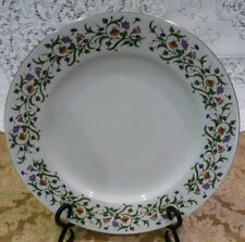 Set of 2 Farber Ware Fine China Ashbury 3088 Claire II Dinner Plates