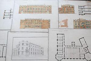 19th century Architect Drawings - England Sutherland Institute Longton
