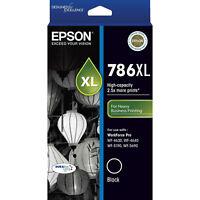 Genuine Original Epson 786XL Black Ink Cartridge Toner High Capacity T787192