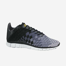 Nike Free Inneva Woven Men's Shoes Size 11.5 Black Dark Wolf Grey 579916-001