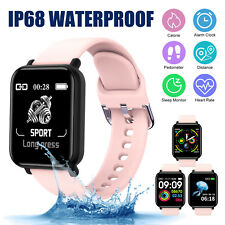 Touch Smart Watch Women Men Heart Rate Wristband for Ios Android Waterproof New
