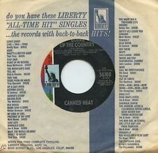 Rare Rock 45 - Canned Heat - Going Up The Country - Liberty Records - M-