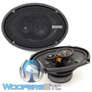 "MEMPHIS PRX6903 6""x9"" 3-WAY PEI TWEETERS COAXIAL SPEAKERS & GRILLS CAR AUDIO NEW"