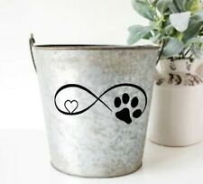 Dog Cat Paw Love Car Window Decorative Stickers Creative Fashion