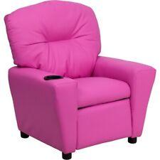 Flash Furniture Pink Kids Recliner, Pink - BT-7950-KID-HOT-PINK-GG