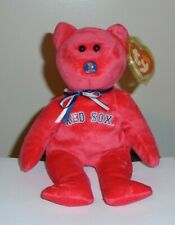 TY Beanie Baby NFL Football Bear - MWMTs SAN FRANCISCO 49ERS 8.5 inch