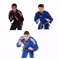 Tatami Estilo BJJ Gi 6.0  Blue Navy Brazilian Jiu Jitsu Uniform Mens Kimono Suit