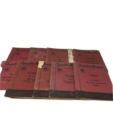 International Harvester Mccormick Lot of 9 Operators Manuals