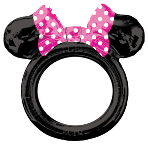 NEW Minnie Mouse Ears Inflatable Selfie Frames, Children Photo-booth, kids party