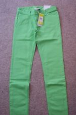 adidas Neo Womens Skinny Jeans. Size W27, L32. Green Zest. New with tags