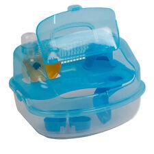 Hamster Habitat Cage Travel Portable Pet Carrier, Large BT S0U0