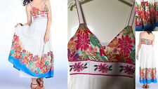 Superbe robe longue bohème DERHY taille 36 neuve et étiquetée