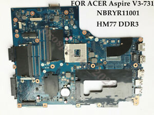 For Acer V3-771 V3-771G Inter HM77 Motherboard VA70/VG70 NB.RYR11.001 NBRYR11001