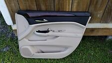 2011 CADILLAC SRX TAN/DARK BROWN INTERIOR FRONT RIGHT DOOR TRIM PANEL PASSENGER