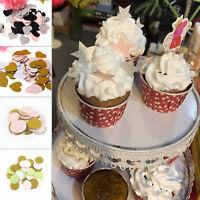 100Pcs/lot Gold Glitter Star Table Confetti Wedding Decor Birthday Party Supply