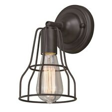 Vaxcel Clybourn 1 Light Wall Light, Oil Rubbed Bronze - W0311