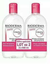 2 x Bioderma Sensibio H2O Micellar Solution 500ml