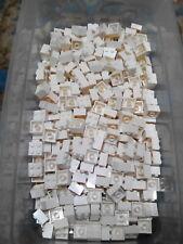 Lego White Brick 2X2 25 Pieces NEW