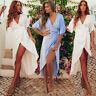US Stock Women Summer Boho Long Maxi Dress Evening Party Cocktail Beach Sundress