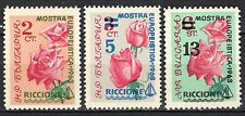 Bulgaria - 1963 Stamp exhibition Riccione / Roses / Flowers - Mi. 1391-93 MNH