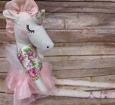 Ballerina Unicorn Stuffed Doll