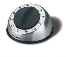 Salter Mechanical Kitchen Timer Stainless Steel 338ssbkxr