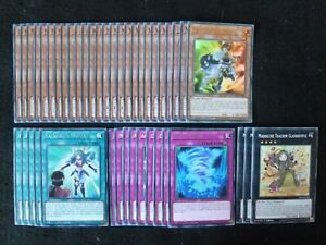 YU-GI-OH 43 CARD VALKYRIE DECK  *READY TO PLAY*