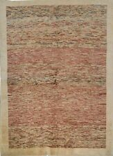 Handmade modern/contemporary design multicoloured 198 cm x 158 cm Authentic