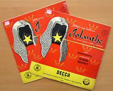 LK 4044/5 Gilbert & Sullivan Iolanthe d'oyly Carte Opera 2xLP Decca Mono EX