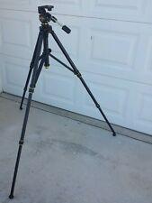 Professional Tripod 3 Way Oil Fluid Pan Head Camera Video Photography Kit