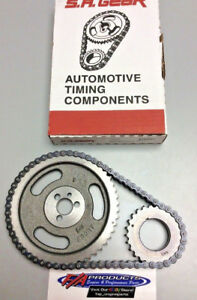 Big Block Chevy 396 402 427 454 Engines Stock Roller Timing Set S.A. GEAR 73036