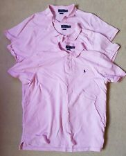 3x camisas Polo Ralph Lauren Pink XL Classic Fit